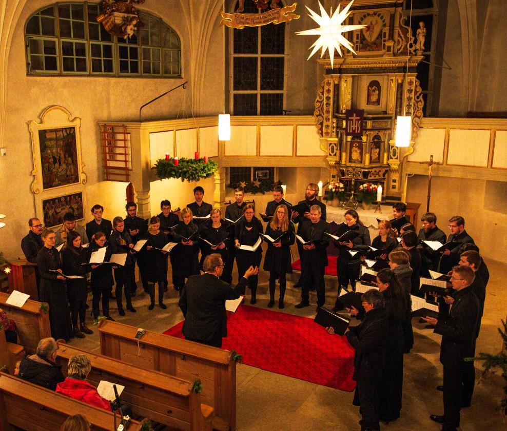 """""""Junges Ensemble Dresden"""" in unserer Kirche"""